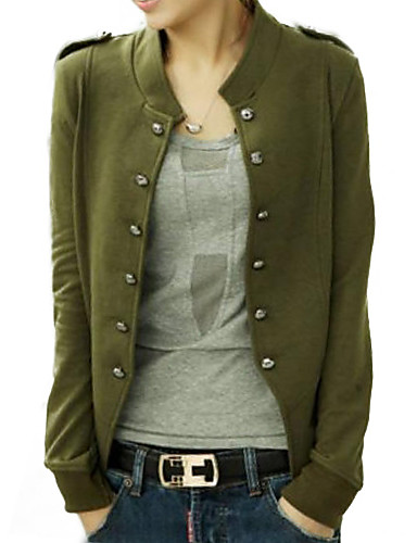 Women's Jacket - Solid Stand