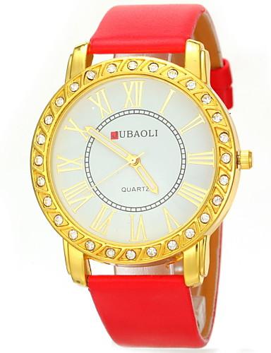 JUBAOLI® Women's Casual Design PU Band Quartz Wristwatch Cool Watches Unique Watches