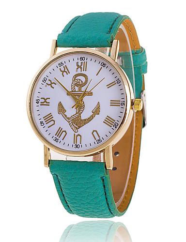 Xu™ Women's Quartz Wrist Watch Casual Watch PU Band Charm Fashion Black White Green Pink