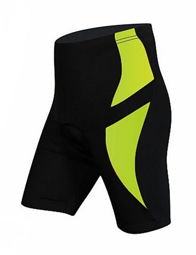cheap Cycling Clothing-KORAMAN Men's Cycling Padded Shorts Bike Shorts Padded Shorts / Chamois Pants Breathable 3D Pad Quick Dry Sports Lycra Black / Red / Black / Green / Bule / Black Road Bike Cycling Clothing Apparel