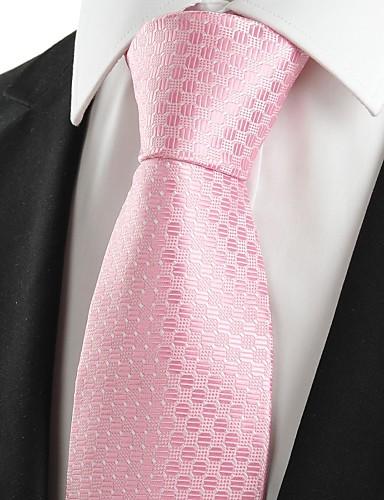 Herre Fest Kontor Basale Slips - Bomuld Rayon Polyester Prikker