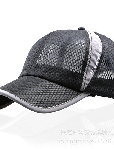 cheap Outdoor Clothing-Hiking Hat Hat Breathable Protective Spring Summer Fall Blue Pink Dark Gray Men's Women's Unisex Baseball / Cotton