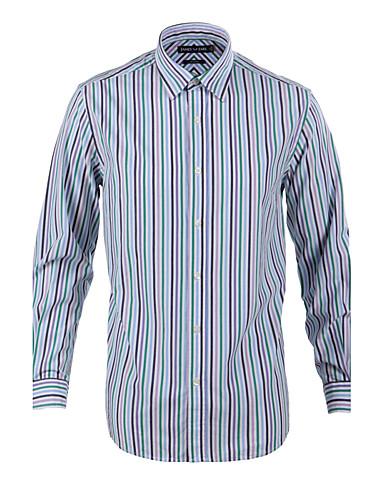 JamesEarl Muškarci Kragna košulje Dugi rukav Shirt & Bluza Siva-MB1XC001214