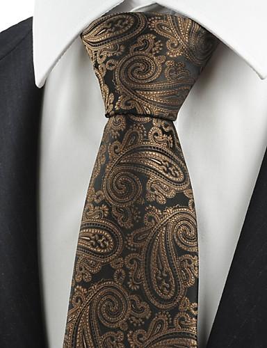 Herrn Retro Niedlich Party Büro Freizeit, Baumwolle Kunstseide Polyester Hals-Binder Paisley-Muster