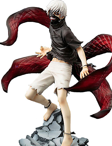 cheap Sale-Anime Action Figures Inspired by Tokyo Ghoul Ken Kaneki PVC(PolyVinyl Chloride) 23 cm CM Model Toys Doll Toy