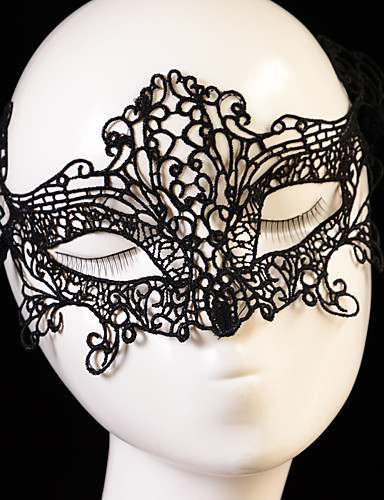 abordables Demoiselles d'Honneur-Dentelle Coiffure / Les masques avec Fleur 1pc Mariage / Occasion spéciale Casque