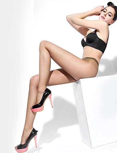 BONAS® Couleur unie Mince Legging-@6016
