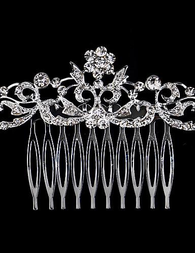 abordables Demoiselles d'Honneur-Perle / Cristal / Strass Peignes avec 1 Mariage / Occasion spéciale / Décontracté Casque
