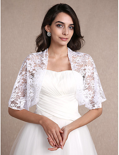 3c3331de694 Lace Wedding   Party Evening   Casual Women s Wrap With Lace Shrugs