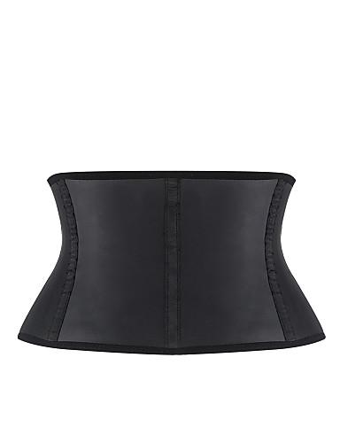 Women's Hook & Eye Plus Size Underbust Corset-Jacquard
