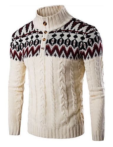 Herrn Sport Pullover-Einfarbig