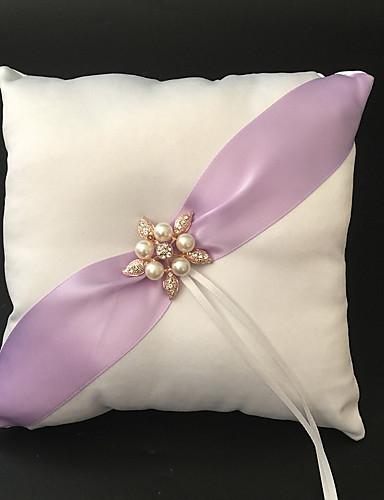 witte 1 linten faux parel satijn in het trouwwinkelhuwelijksthema