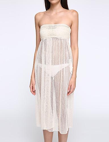 γυναίκες να καλύψει έως και βελονάκι κοίλων έξω δικτυωτός μαγιό μπικίνι boho φόρεμα φούστα το καλοκαίρι στην παραλία