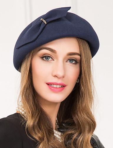 billige Hatte & Imponeringer-Ull / Legering Kentucky Derby Hat / fascinators / Hatter med 1 Bryllup / Spesiell Leilighet / Avslappet Hodeplagg