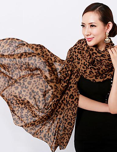 Mujer Raso Rectángulo - Básico Leopardo