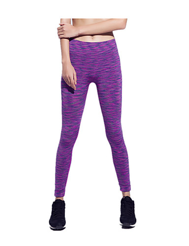 db5d6a86798b8 Women's Running Pants Sports 3/4 Tights Leggings Yoga Fitness Gym Workout  Activewear Breathable Quick Dry Reduces Chafing Ultra Light Fabric Stretchy