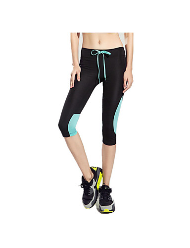 92b2d5f6d71d3 Mujer Pantalones de Running Rojo Verde Azul Deportes Moda 3 4  Medias Corsario Leggings Prendas de abajo Yoga Pilates Ejercicio y Fitness  Ropa de Deporte ...