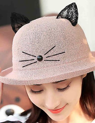 قبعة شمسية سادة أناقة الشارع للمرأة