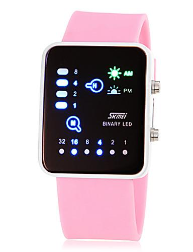 4472d23cad7 Dámské Náramkové hodinky Digitální Silikon Růžová   žlutá   Rose Digitální  dámy Přívěšky Módní - Žlutá