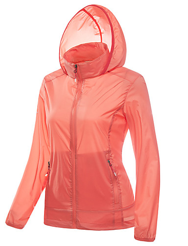 3566a909f6e LEIBINDI Women s Outdoor Windproof Breathable Quick Dry Ultraviolet  Resistant Jacket Top Camping   Hiking Fishing Climbing Fuchsia   Blue   Pink
