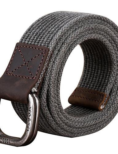 Unisexo Tecido, Cinto para a Cintura - Tricôt Sólido