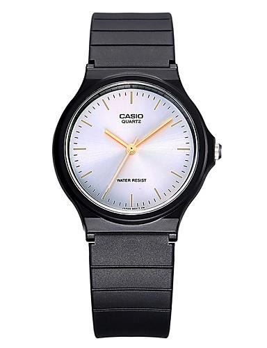 Casio Pánské Pro páry Sportovní hodinky Módní hodinky japonština Křemenný Voděodolné Pryž Kapela Cool Běžné nošení Černá