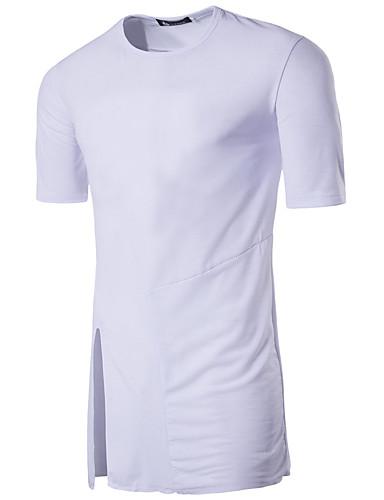 Pánské Barevné bloky Běžné/Denní Jednoduché Tričko Bavlna Kulatý Krátký rukáv