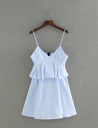 Damen Lose Etuikleid Kleid Einfach Street Schick Solide Gurt Übers Knie Ärmellos Seide Baumwolle Sommer Herbst Mittlere Hüfthöhe