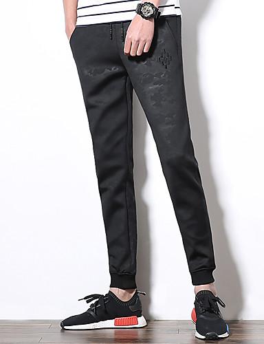 Pánské Vintage Roztomilý Na běžné nošení Aktivní Šik ven Čínské vzory Lehce elastické Harémové Štíhlý Culotte Kalhoty chinos Kalhoty Low