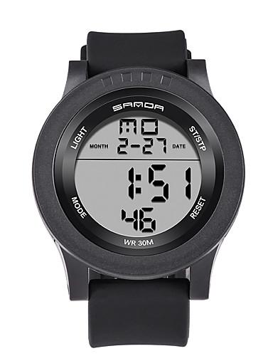 Homens Relógio de Pulso Relógio inteligente Relógio Militar Relógio de Moda Relógio Esportivo Digital Calendário LED Noctilucente