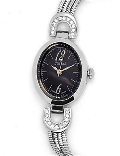Dámské Módní hodinky Náramkové hodinky Křemenný Voděodolné Slitina Kapela Třpyt Na běžné nošení Stříbro Hnědá Zlatá Růžové zlato