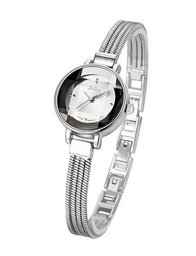 Dámské Módní hodinky Křemenný Voděodolné Slitina Kapela Na běžné nošení Černá Stříbro Hnědá Zlatá