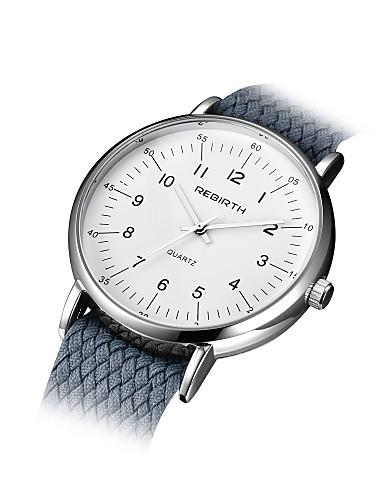 Dámské Módní hodinky čínština Křemenný Materiál Kapela Černá Bílá Modrá Stříbro Šedá