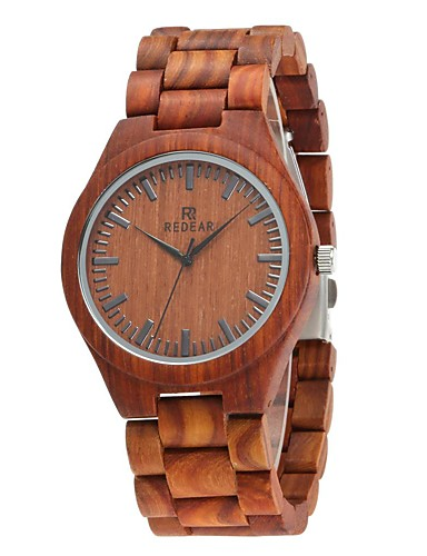 Redear Wood Watch Emitters Wooden Brown / Stainless Steel / Japanese / Japanese