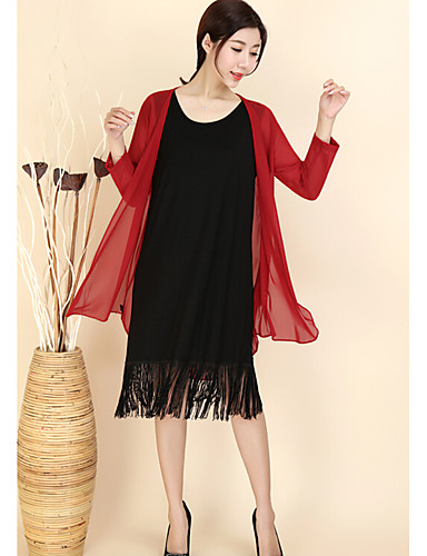 Women's Casual Casual Spring/Fall Trench Coat