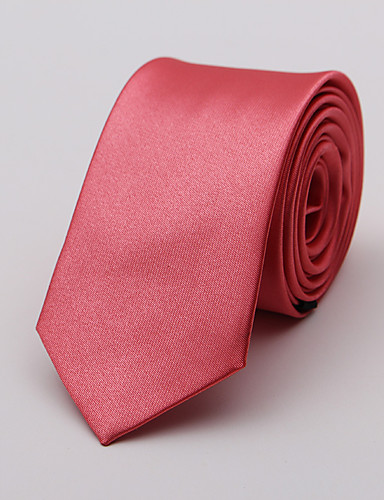 cheap Up to 90% off-Men's Neckwear Necktie - Solid Colored