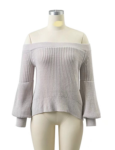 Women's Going out Daily Casual Street chic Regular Pullover