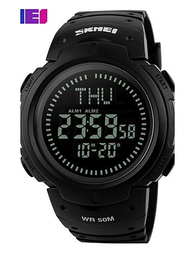SKMEI Homens Relógio Esportivo / Relógio de Pulso / Relogio digital Venda imperdível PU Banda Amuleto / Fashion Preta / Verde