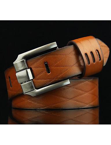 Homens Clássica Liga, Cinto para a Cintura - Estampado