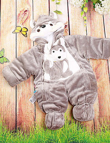 Baby Children's New Baby Daily Baby Shower Cartoon Image One-Pieces