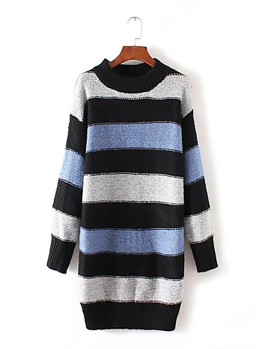 Women's Daily Going out Casual Long Pullover