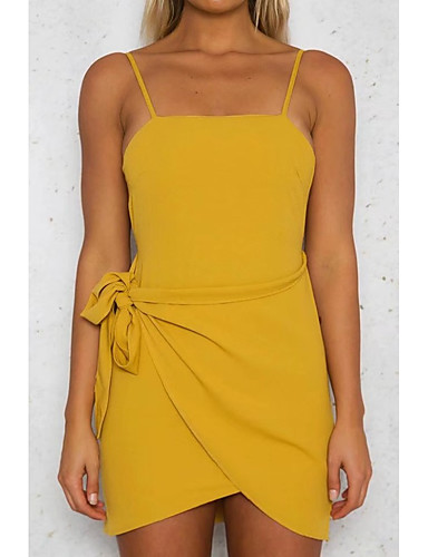 Women's Going out Daily Simple Street chic Bodycon Sheath Dress