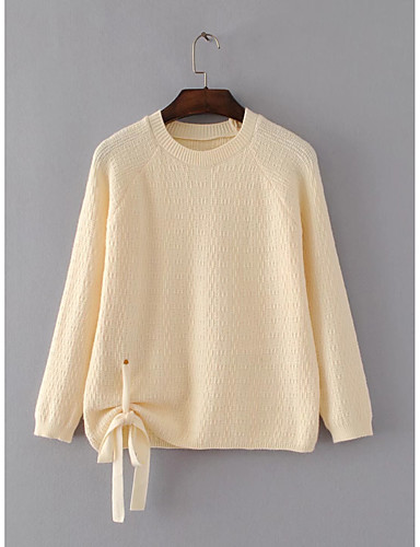 Women's Going out Daily Casual Long Pullover