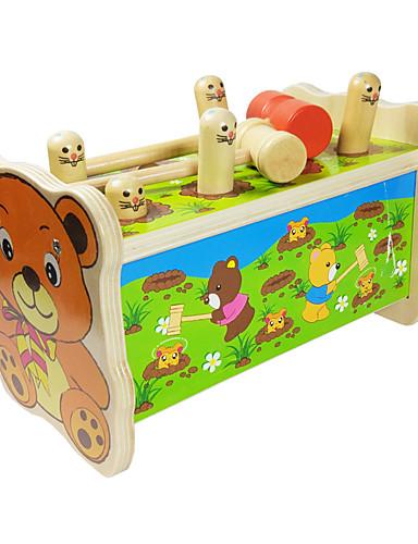 voordelige Speelgoedgereedschap-Doen alsof-spelletjes Anti-stress Unisex Jongens Cartoondesign Kinderen / Hout