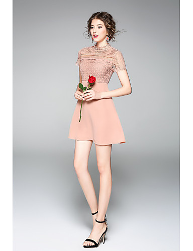 Women's Party Holiday Going out Casual Cute A Line Sheath Dress