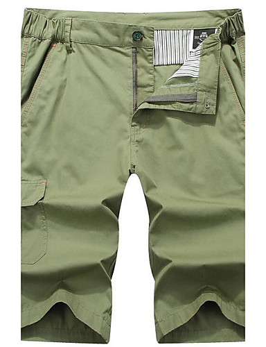Men's Mid Rise Micro-elastic Shorts Pants,Active Simple Straight Camouflage