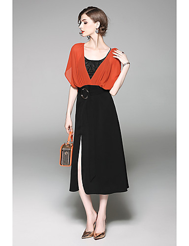 Women's Holiday Going out Daily Simple Loose Dress