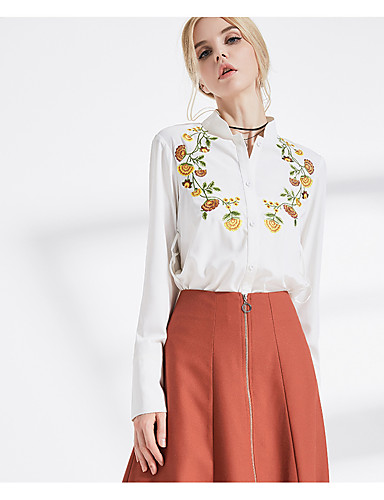 Women's Daily Casual Chinoiserie Fall Shirt