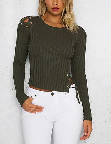 Women's Going out Daily Casual Short Pullover