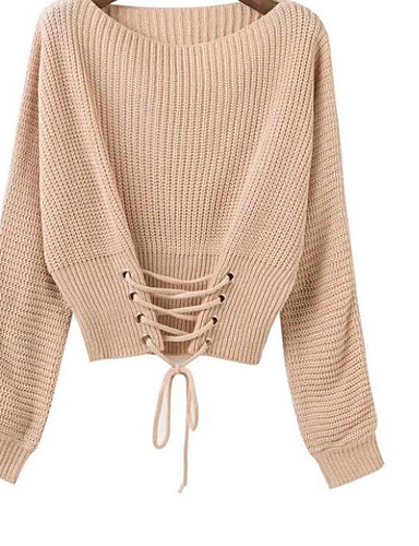Women's Going out Daily Street chic Short Cardigan